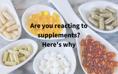 Are you reacting to supplements? Here's why